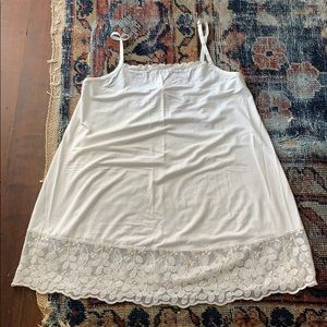 Matilda Jane size M top extender with lace